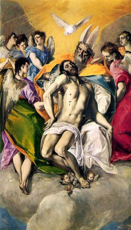 Ascension of Jesus - El Greco