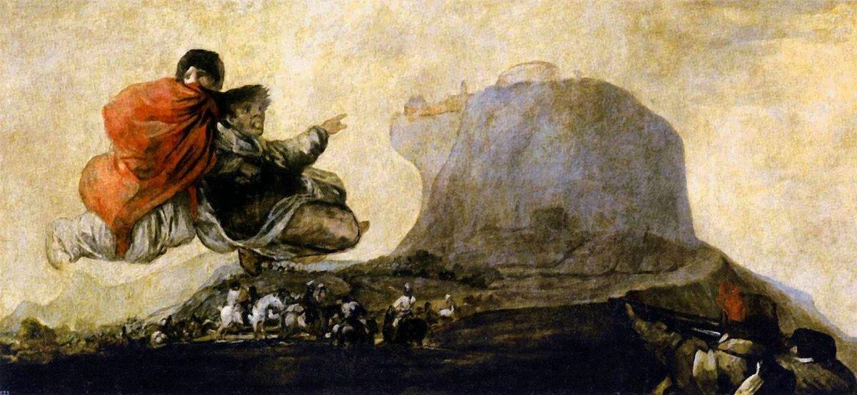 Asmodea - Francisco Goya