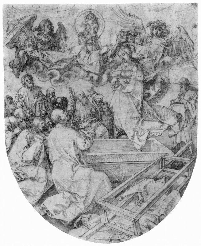 Assumption and Coronation of the Virgin - Albrecht Durer