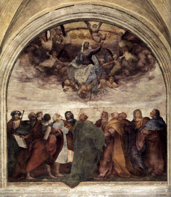 Assumption of the Virgin - Rosso Fiorentino