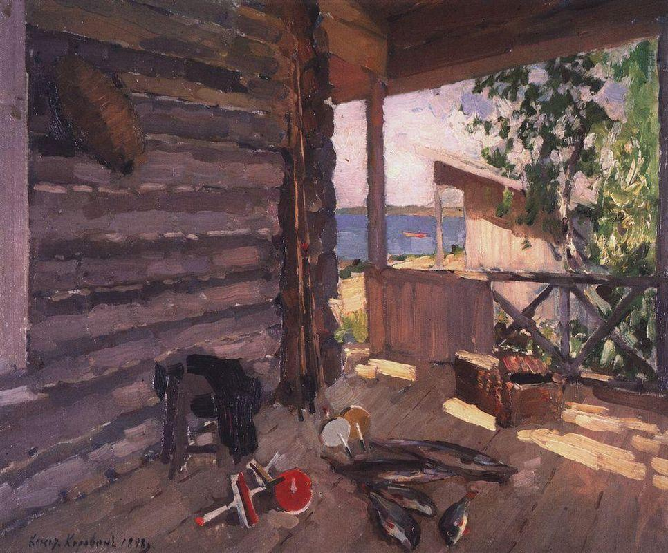 At Senezhskom Lake  - Konstantin Korovin