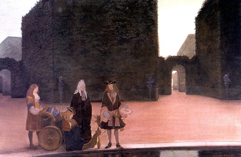 At the pool of Ceres - Alexandre Benois