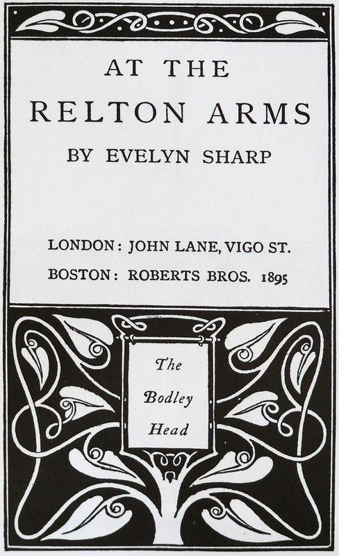 At The Relton Arms - Aubrey Beardsley