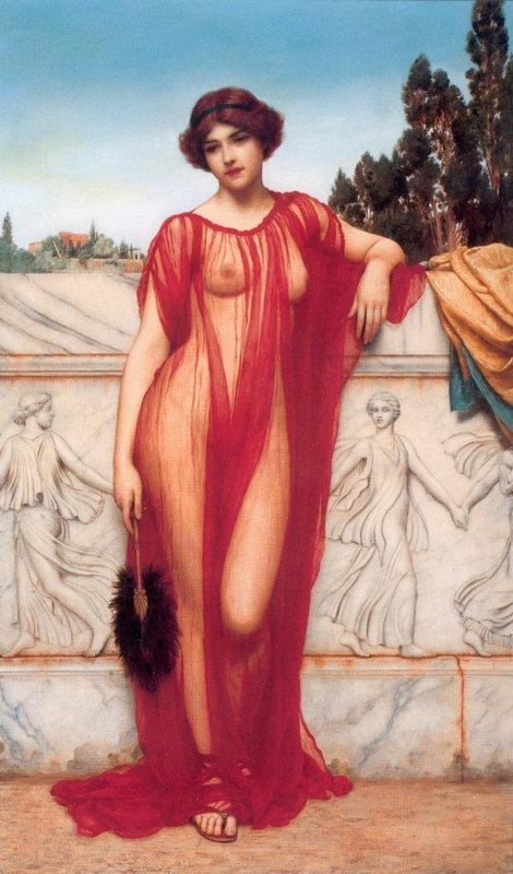 Athenais - John William Godward