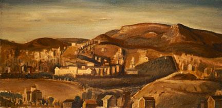 Athens Landscape - Yiannis Moralis