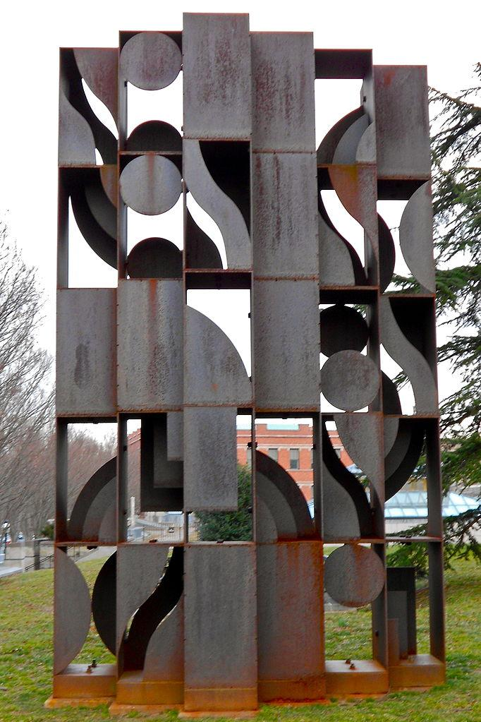 Atmosphere and Environment X - Louise Nevelson