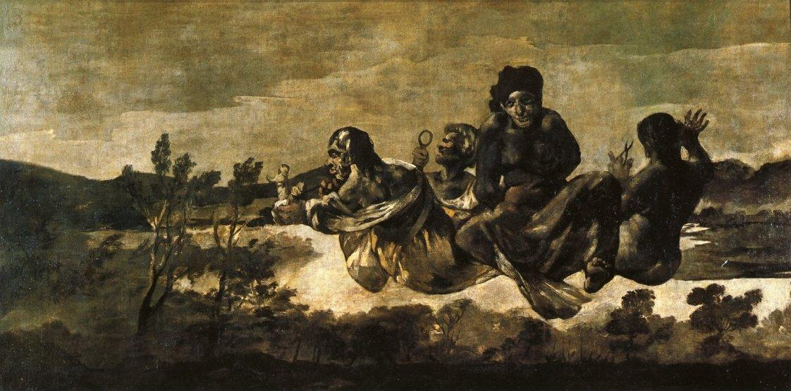 Atropos (The Fates) - Francisco Goya