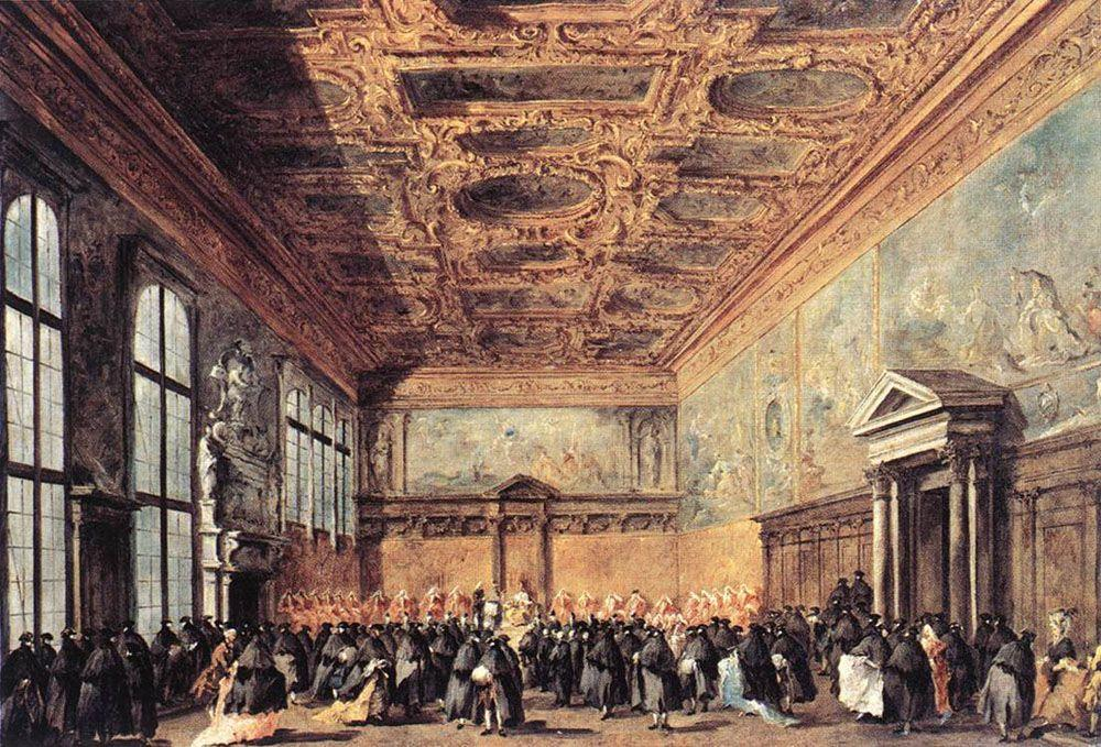 Audience Granted by the Doge - Francesco Guardi