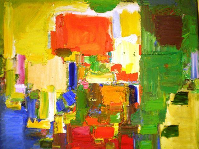 August Light - Hans Hofmann