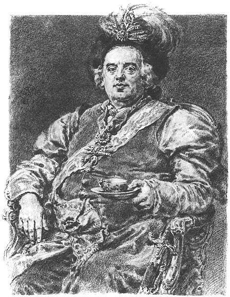 Augustus III - Jan Matejko