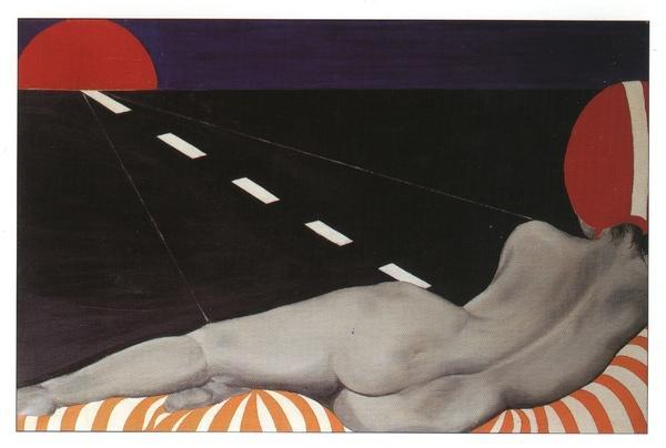 Auto stop - Evelyne Axell