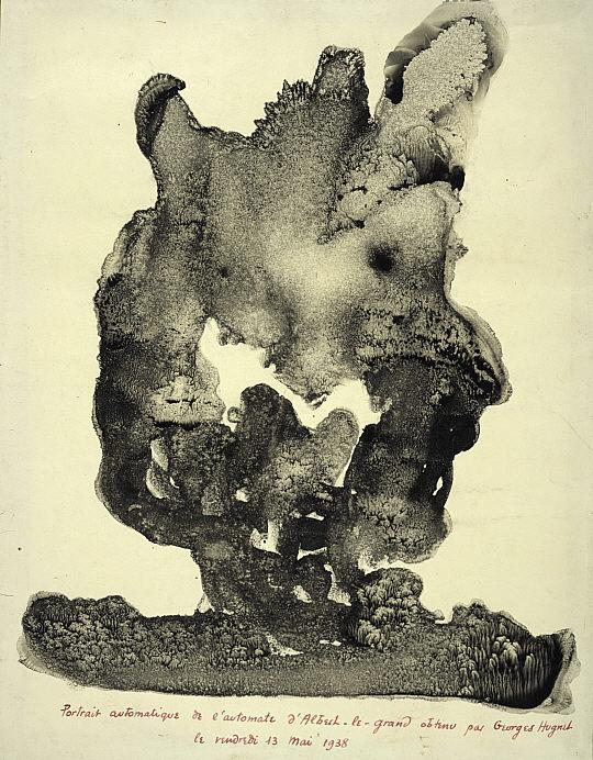 Automatic Portrait of the Automaton of Albertus Magnus - Georges Hugnet