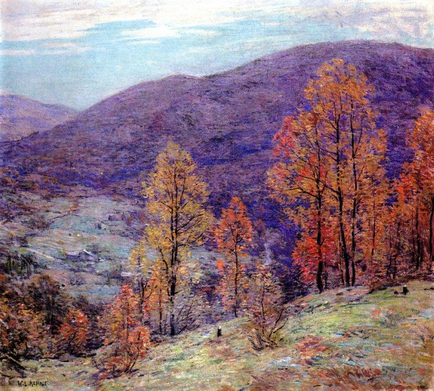 Autumn Glory - Willard Metcalf