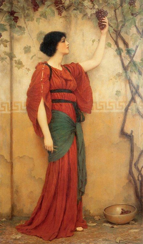 Autumn - John William Godward