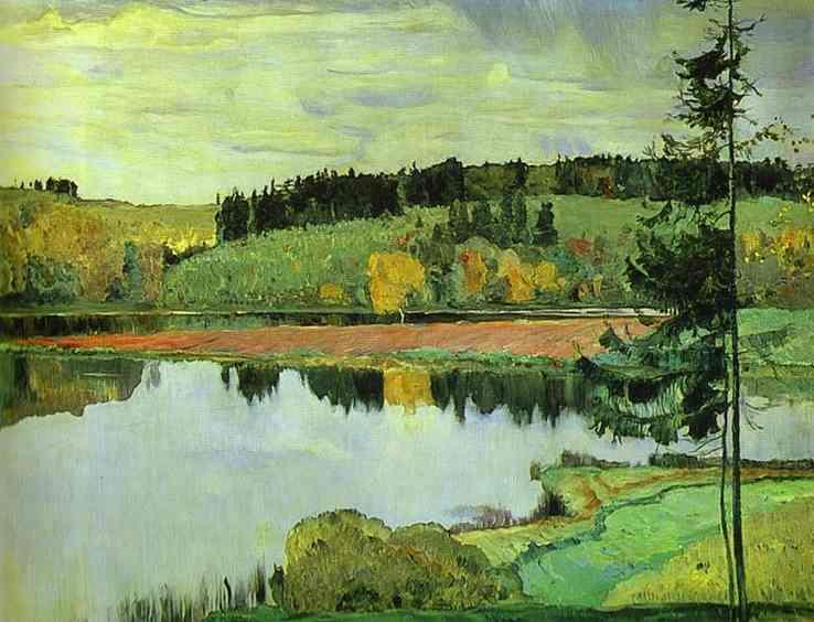 Autumn - Mikhail Nesterov