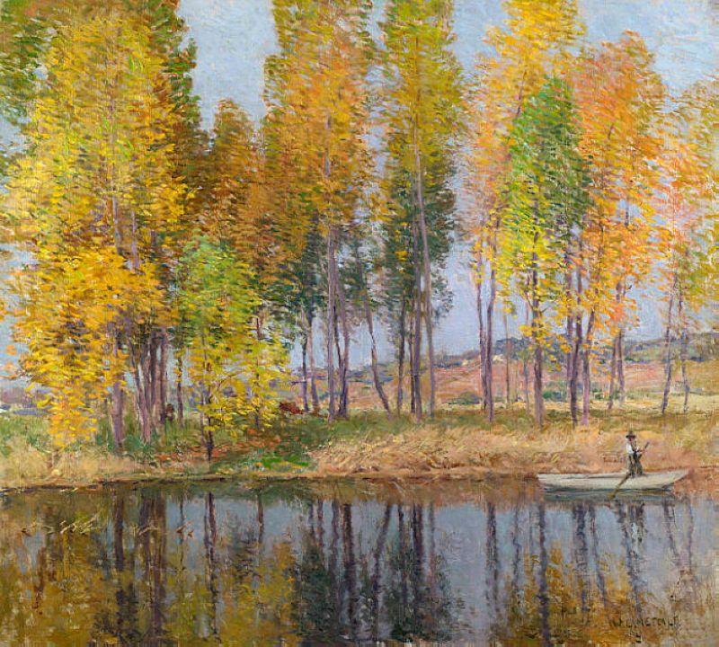 Autumn Festival - Willard Metcalf