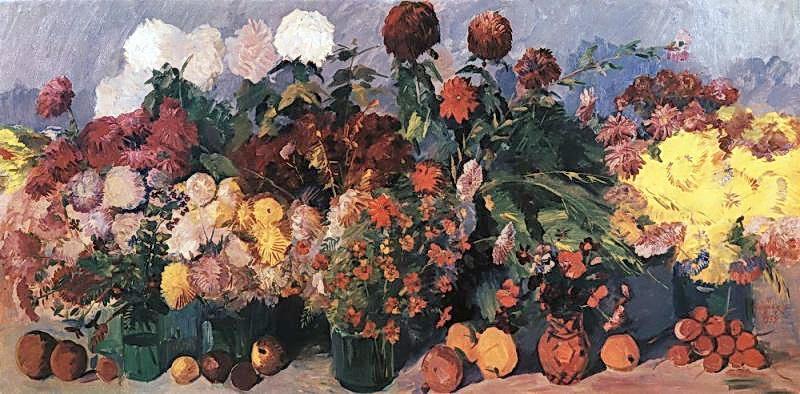 Autumn flowers and fruits - Martiros Saryan