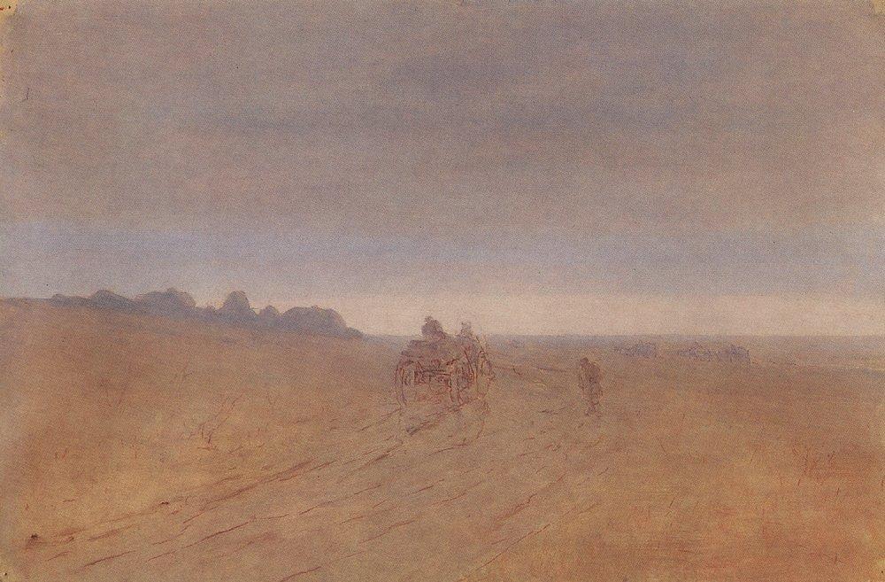Autumn. Fog - Arkhip Kuindzhi