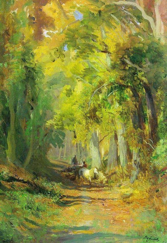 Autumn Forest - Fyodor Vasilyev