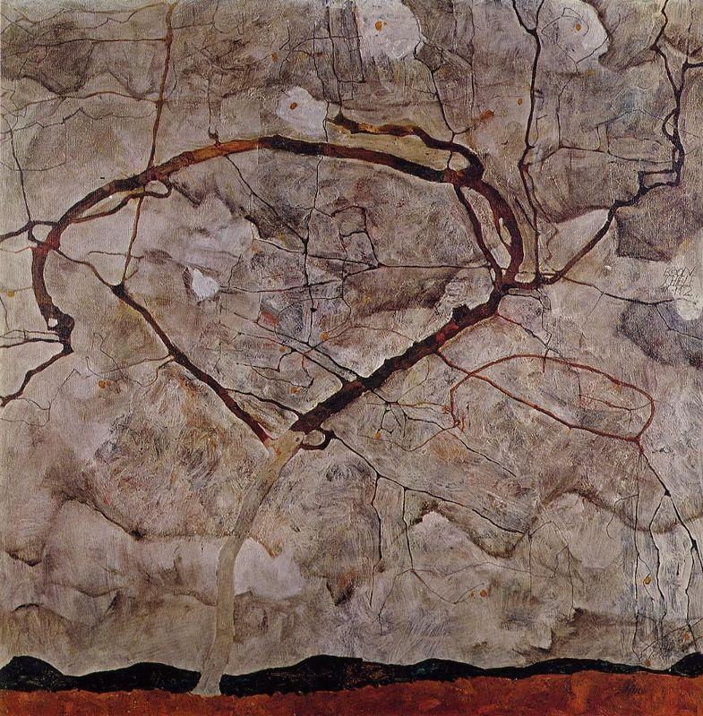 Autumn Tree in Movement - Egon Schiele