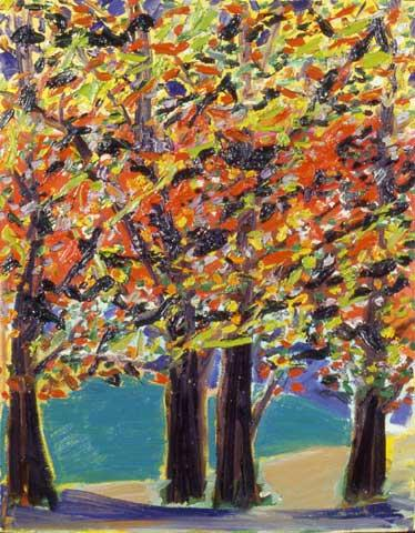 Autumn View, West Hurley, NY - Ronnie Landfield