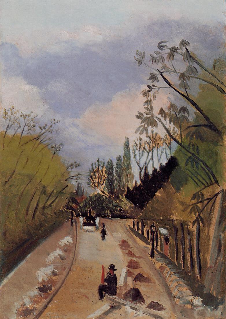 Avenue de l'Observatoire - Henri Rousseau