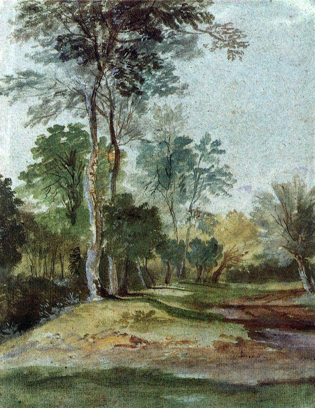 Avenue in the country - Anthony van Dyck