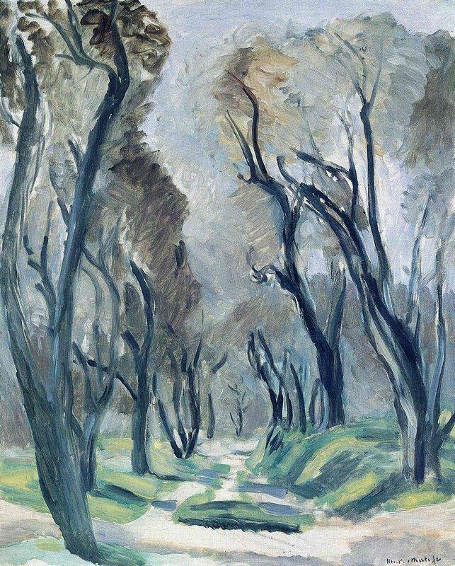 Avenue of Olive Trees  - Henri Matisse