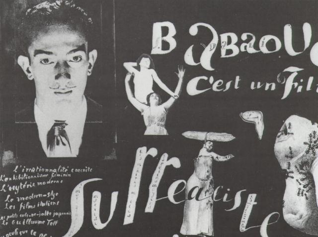 Babaouo - Publicity Announcement for the Publication of the Scenario of the Film - Salvador Dali