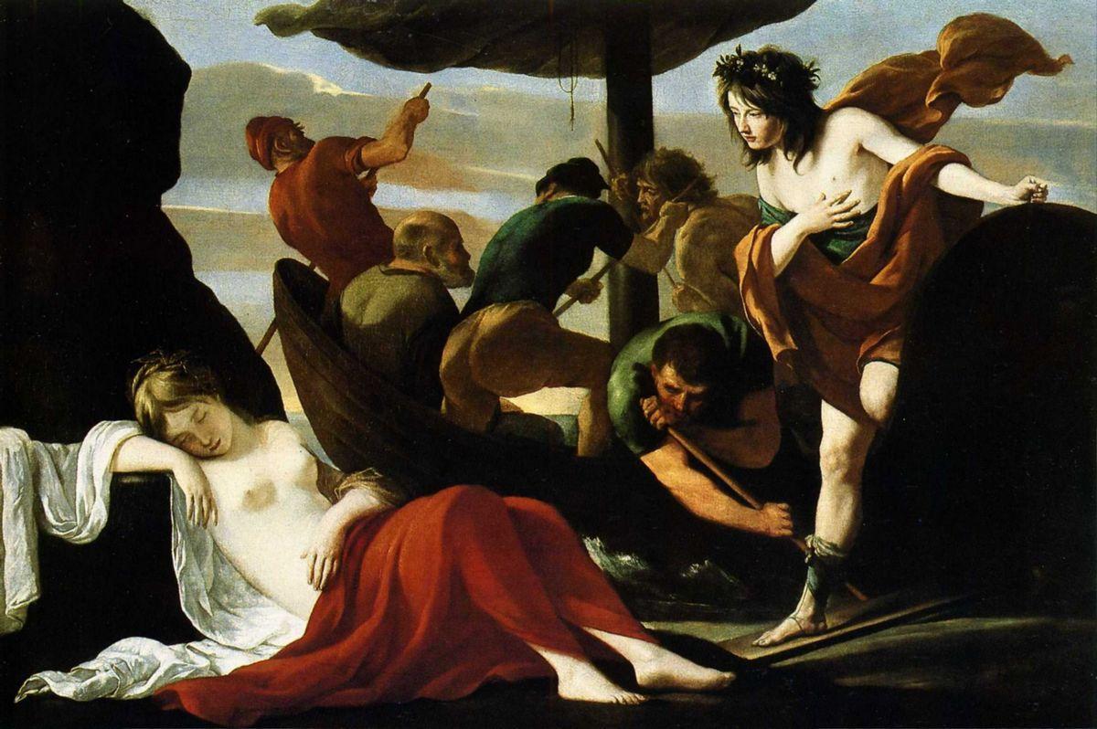 Bacchus and Ariadne - Frank Auerbach