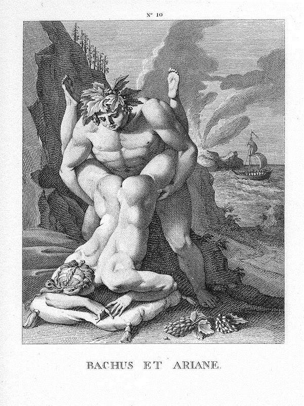 Bachus and Ariane - Agostino Carracci