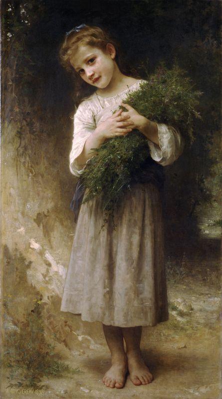 Back Fields - William-Adolphe Bouguereau