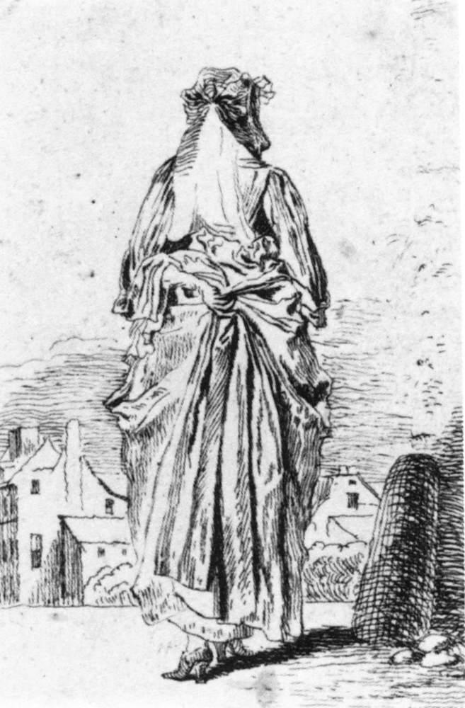 Back of Woman - Antoine Watteau
