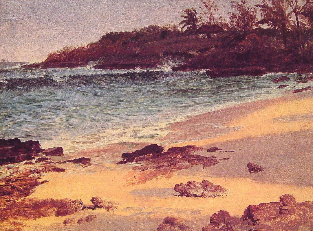 Bahama Cove - Albert Bierstadt