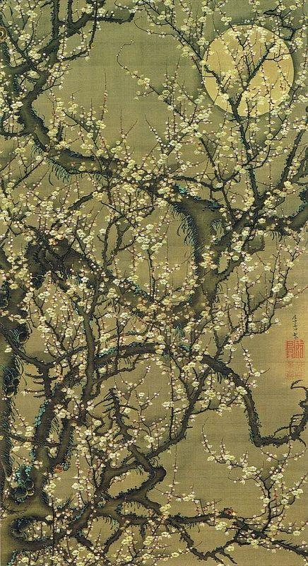 Baika kougetuzu - Ito Jakuchu