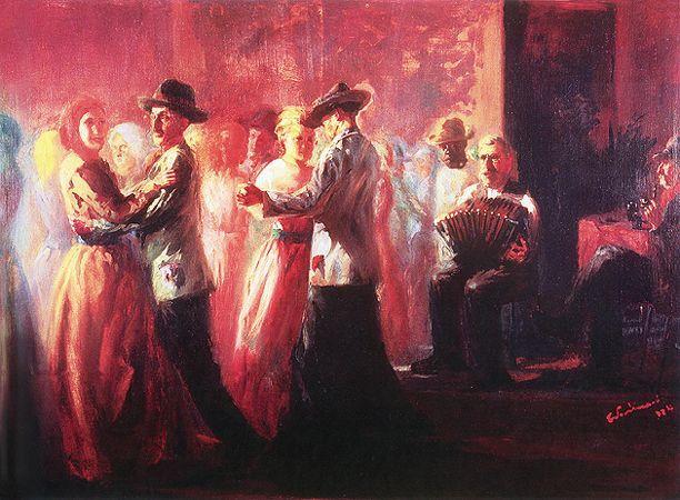 Baile na Roca - Candido Portinari