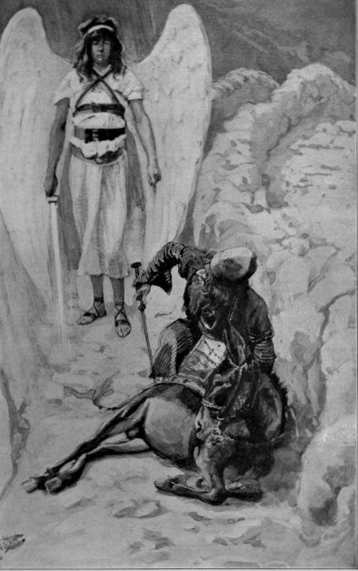 Balaam and the Ass, as in Numbers - James Tissot