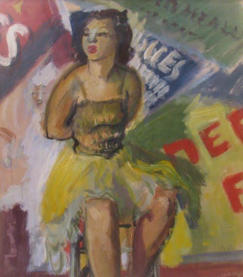 Ballerina at Folies Bergeres - Iosif Iser