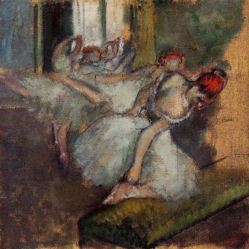 Ballet Dancers - Edgar Degas