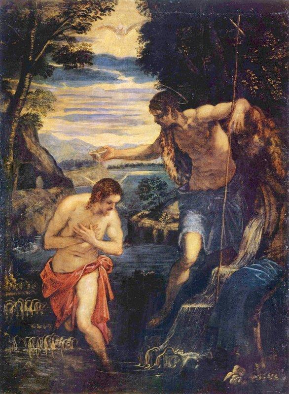 Baptism of Christ - Andrei Rublev