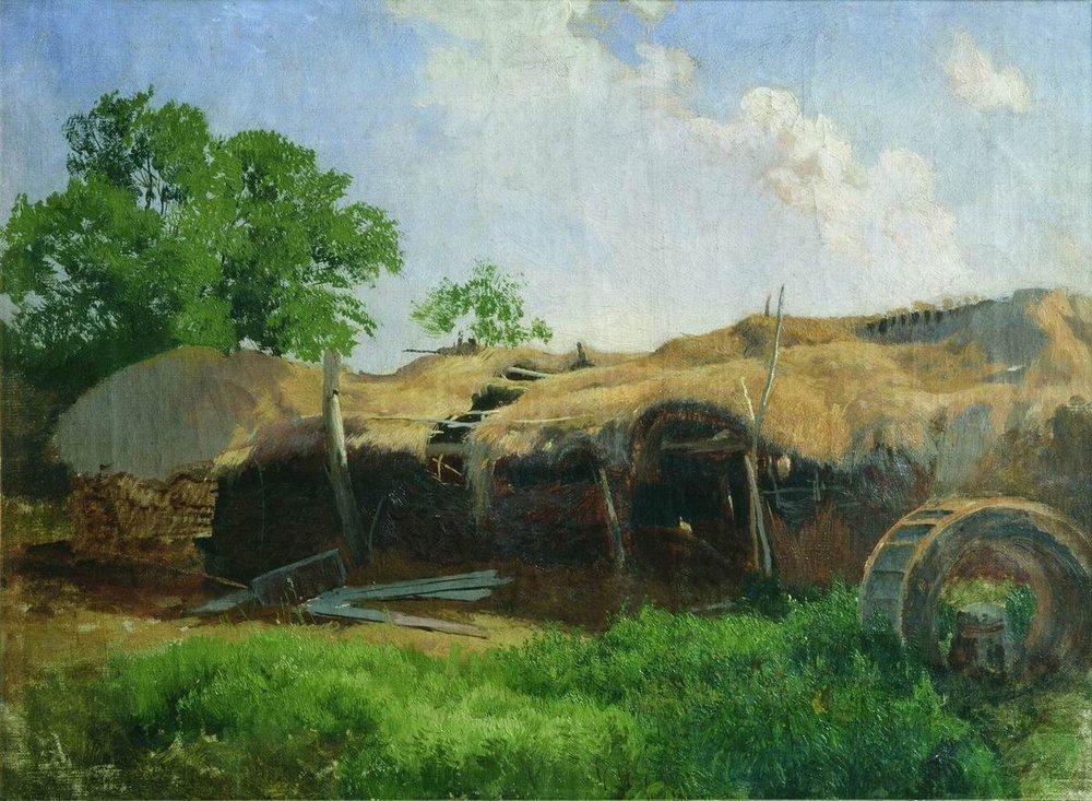 Barns - Fyodor Vasilyev