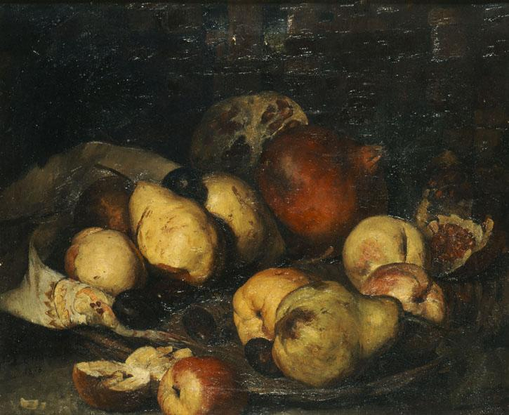 Basket with fruits - Polychronis Lembesis