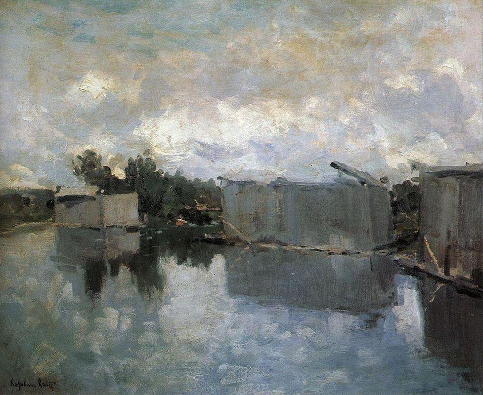 Bath Houses - Konstantin Korovin