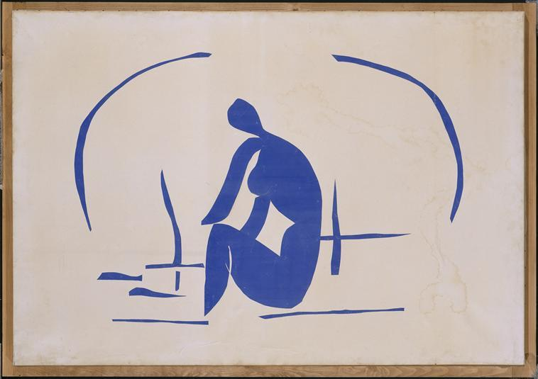 Bather in the Reeds - Henri Matisse