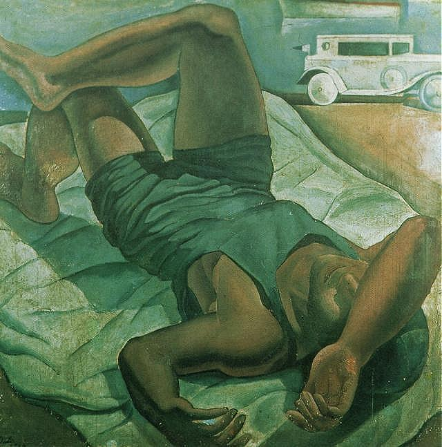 Bather - Salvador Dali