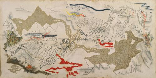 Battle of Fishes - Andre Masson