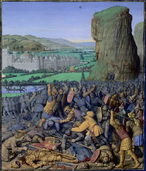 Battle of Gilboa Flavius ??Josephus - Jean Fouquet