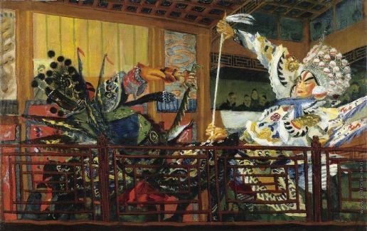 Battle of the Warriors - Alexandre Jacovleff
