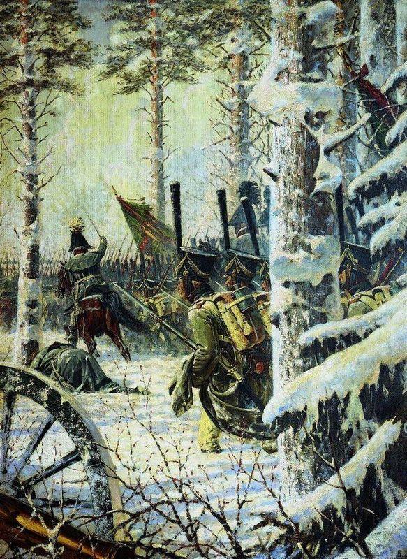 Bayonet Charge. Hurrah-Hurrah - Vasily Vereshchagin