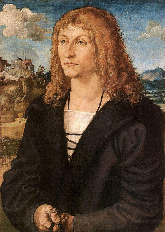 Beardless young man - Lucas Cranach the Elder